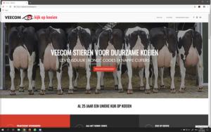 Nieuwe website voor Veecom